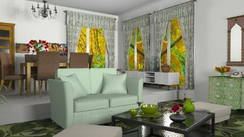 At home - Eclectic - Living room  - by health