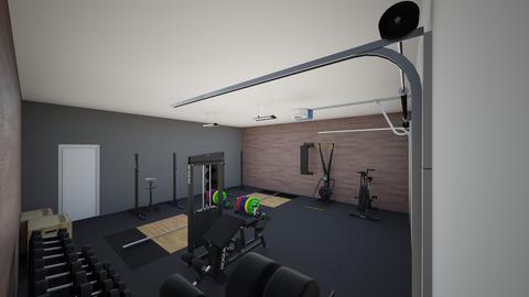 The 2nd garage gym - by rogue_c6a0fec5f3f67c97ab81b9075646c