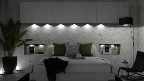 MARBLE BY NIGHT - Bedroom  - by Galstyler
