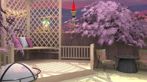 Girly Garden2 - Classic - Dining room  - by lilme_2k