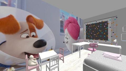 P Klaudia - Kids room  - by DERRYS