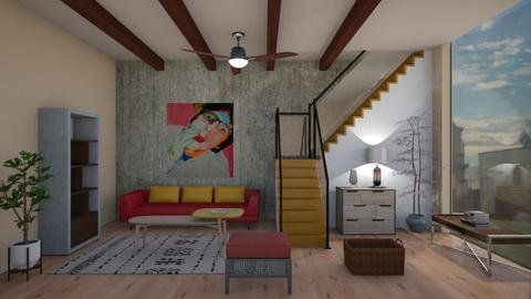 room 5 - Eclectic - Living room  - by Sally Simpson