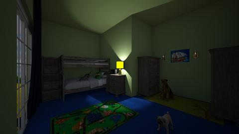 challenge 6 - Kids room  - by larrychase