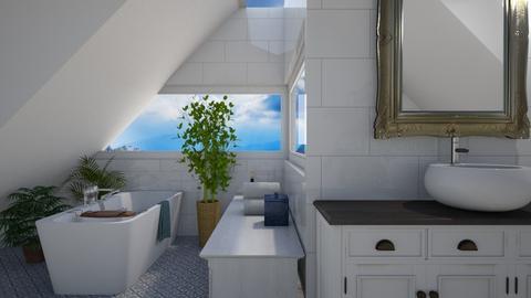 attic bath - Bathroom  - by Soleys