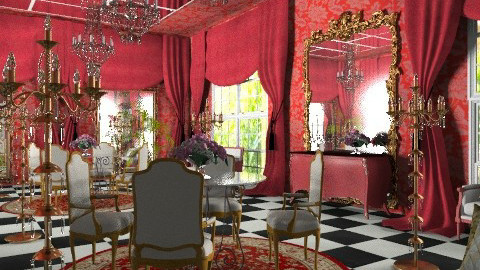 red palace - Classic - Living room - by chania
