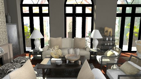i like dark25 - Classic - Living room  - by naki1