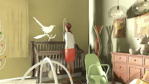 marys new arrival - Kids room  - by decorj