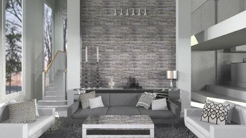 WhiteRoom - Modern - Living room  - by HanneLenaerts