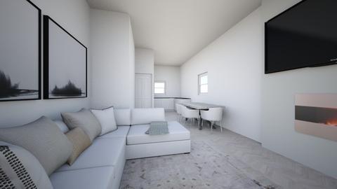 Living Room w Dining Room - Living room  - by mbennett111