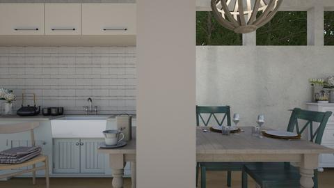 Spring Tea - Modern - Kitchen  - by Gurns