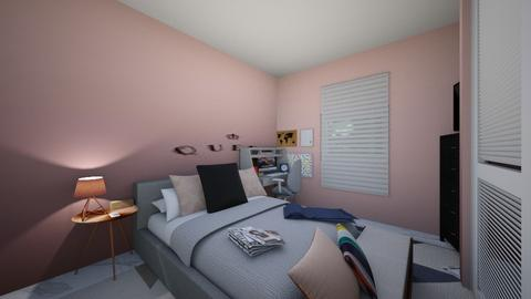 destynee rose gold broom - Bedroom - by ne078712