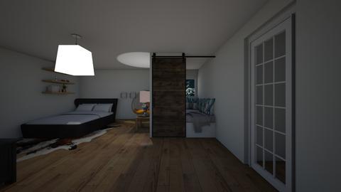 Chill Bedroom - Modern - Bedroom  - by riordan simpson