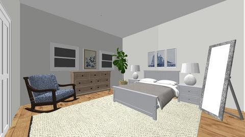 Master Suite - Bedroom  - by Samkostichka