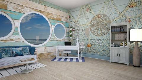 Nautical Office - Office  - by Feeny