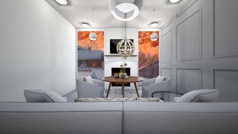 winter living room - Living room  - by tessmcquillan