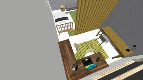 1 - Modern - Bedroom  - by archeng