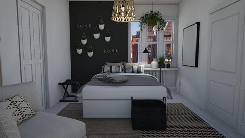 Flower power - Bedroom  - by Thrud45