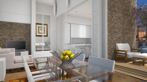 Apartamento pequeno  - by Sanare Sousa