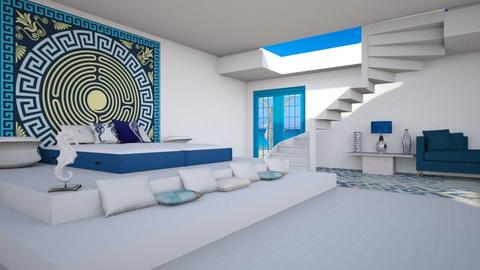 The Gods out the door 1 - Modern - Bedroom  - by CaterinaBoccato