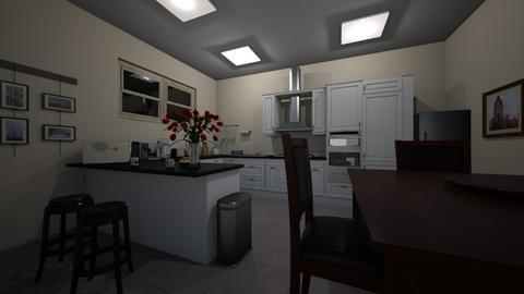 Set_Design_3 - Kitchen  - by TrueWParks