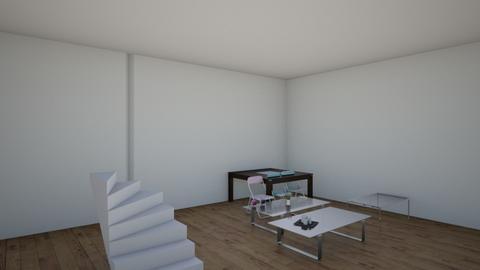 Sleek Modern - Modern - Living room  - by Siraademented1309