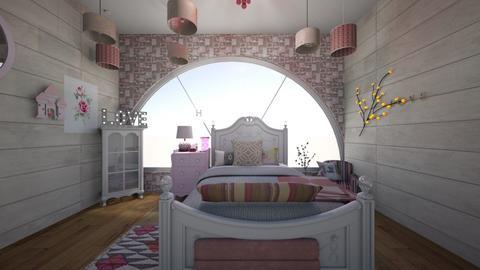 girl room - Bedroom  - by Haylies_rooms