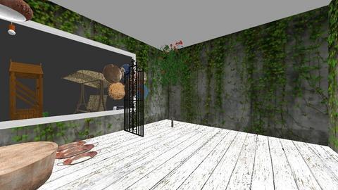 floor lamp contest garden - Garden  - by mari11