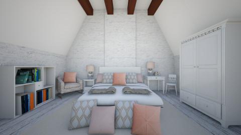 Attic bedroom - Modern - Bedroom  - by martinabb