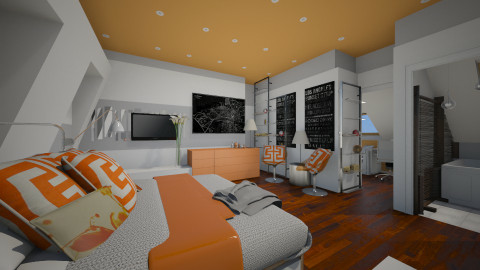 Putney Template - Modern - Bedroom  - by Evangeline_The_Unicorn