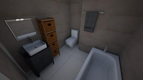 Diamond Flat - Bathroom  - by OlayinkaA
