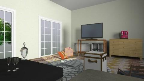 Cool Room - Retro - Living room  - by Drazen11