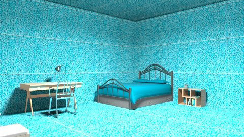 carpeted room - Rustic - Bedroom  - by twins