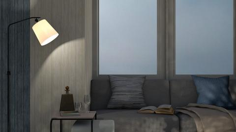 Twenty Thousand Leagues - Living room  - by ashenswan