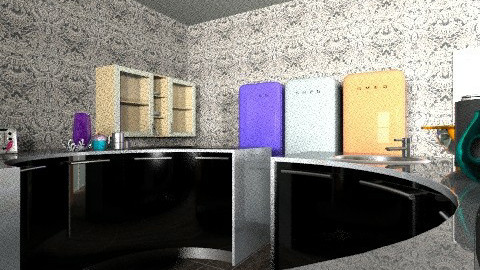 Sample 6 - Eclectic - Kitchen  - by aizacordoza