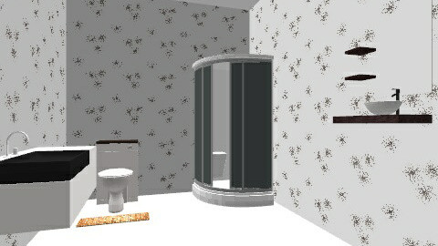 bathroom design - Minimal - Bathroom  - by ayond