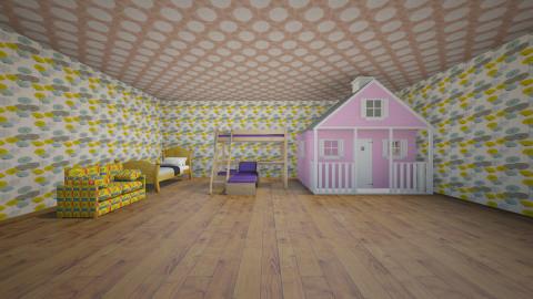 sun - Modern - Kids room  - by Shubham Roy