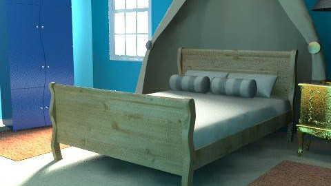 simple blu - Bedroom - by ory_ana