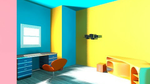 office room - Retro - Office  - by csongifoci