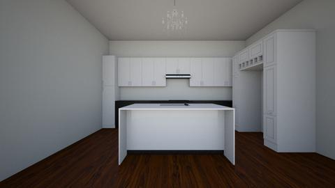 Kitchen wo laundry room - Kitchen  - by mckenziesanner