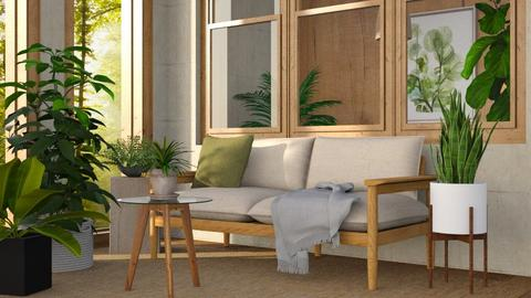 green - Living room  - by Sirtzuuyy