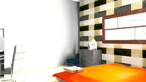 Quarto Oriental - Rustic - Bedroom  - by Eyshila Knevitz Lira