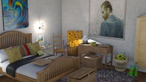 Van Gogh - Bedroom  - by nat mi