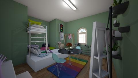 InDie KiD - Retro - Bedroom  - by _Takari_