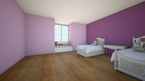 francy - Bedroom - by mili garay