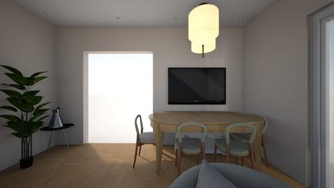 Living room 1 - Modern - Living room  - by milena_spasova