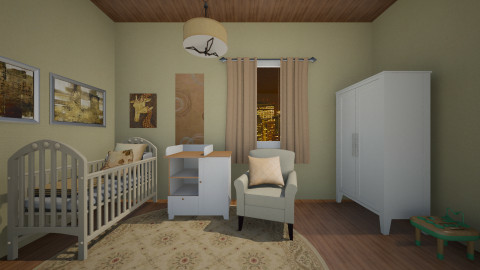 Cuna de oro  - Glamour - Kids room  - by FlorenciaaC