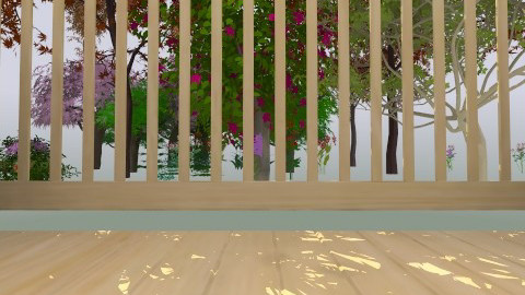 Deck view - Glamour - Garden  - by Paigefort