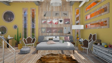 Something new - Eclectic - Bedroom  - by Laurika