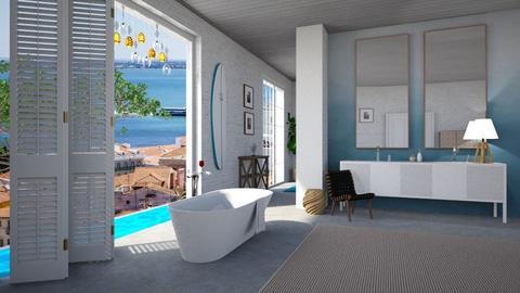 Nautical Bathroom - Modern - Bathroom - by tolo13lolo