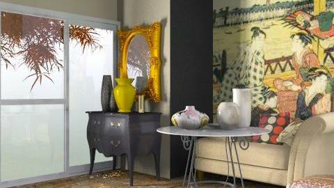 Himuku Kai - Retro - Living room  - by SariJo